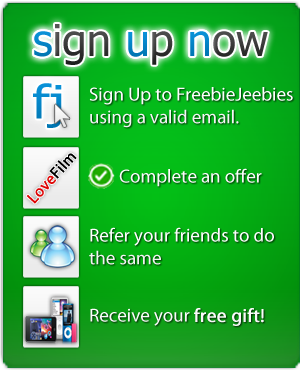 How to get your free Kinect from freebiejeebies
